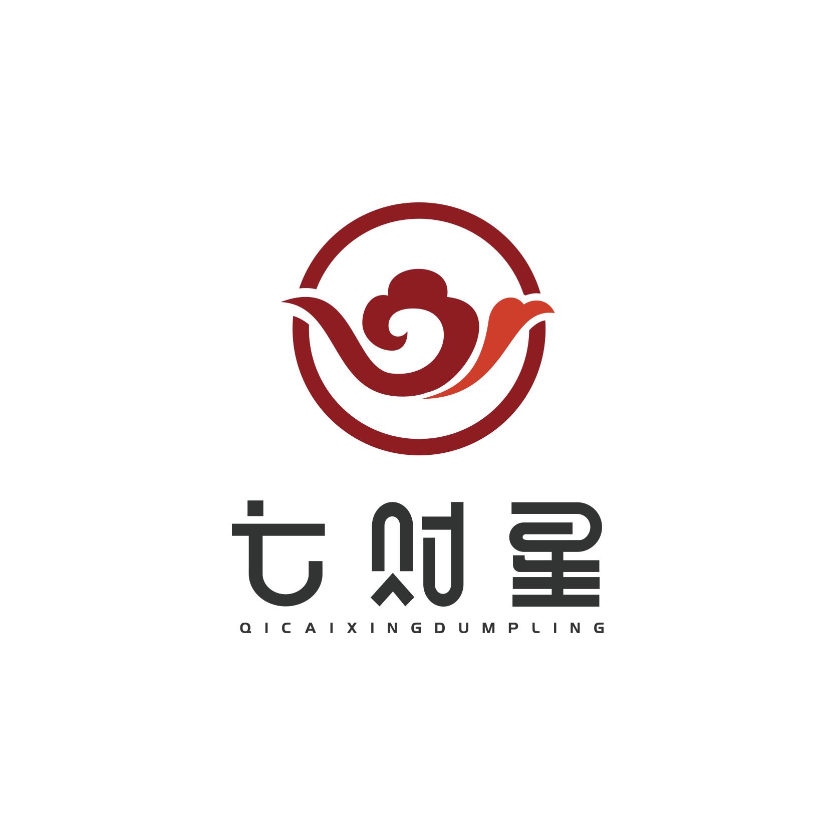 苏州七财星食品公司logo设计