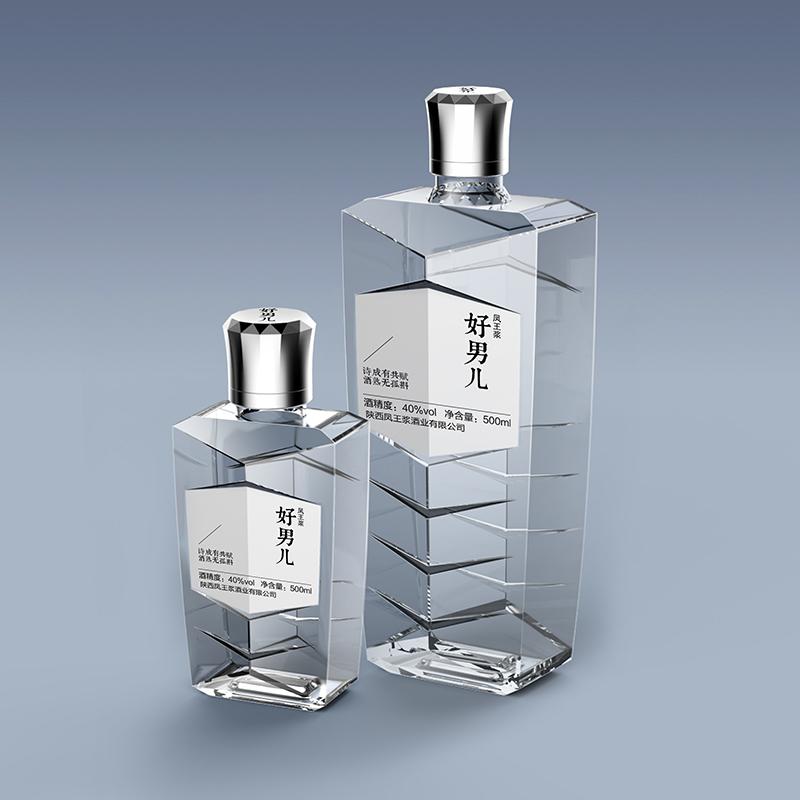 陜西鳳王漿白酒瓶型設計