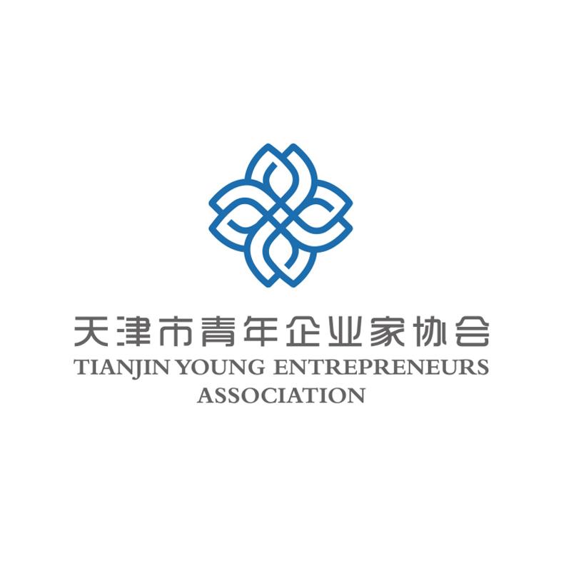 天津青年企業家協會LOGO設計