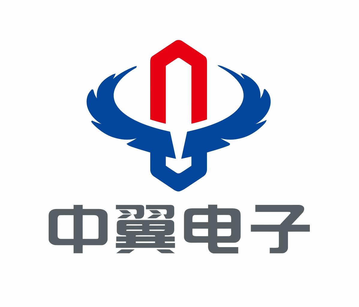 中翼電子logo設計