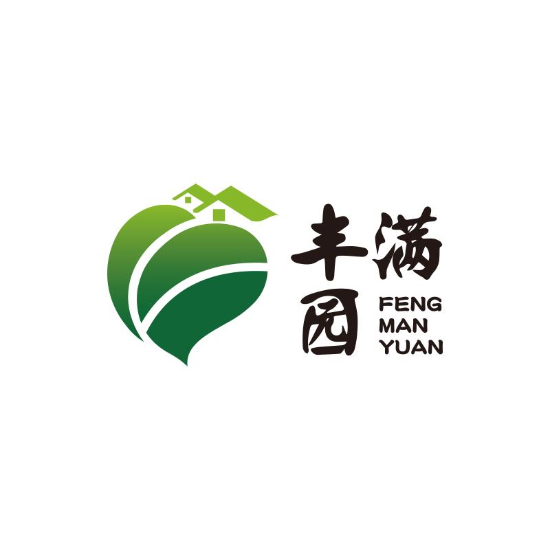 丰满园+果树种植+logo