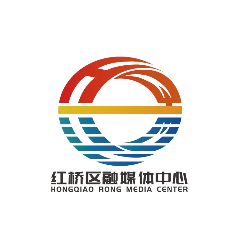紅橋區融媒體中心LOGO設計