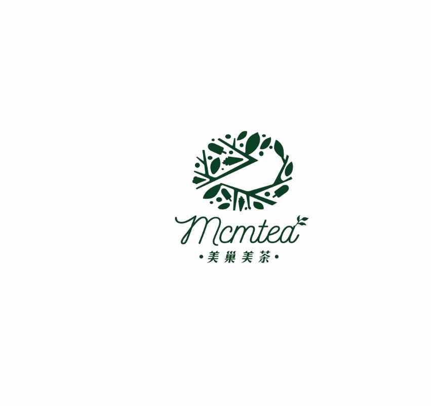 美巢美茶饮品LOGO及VI设计