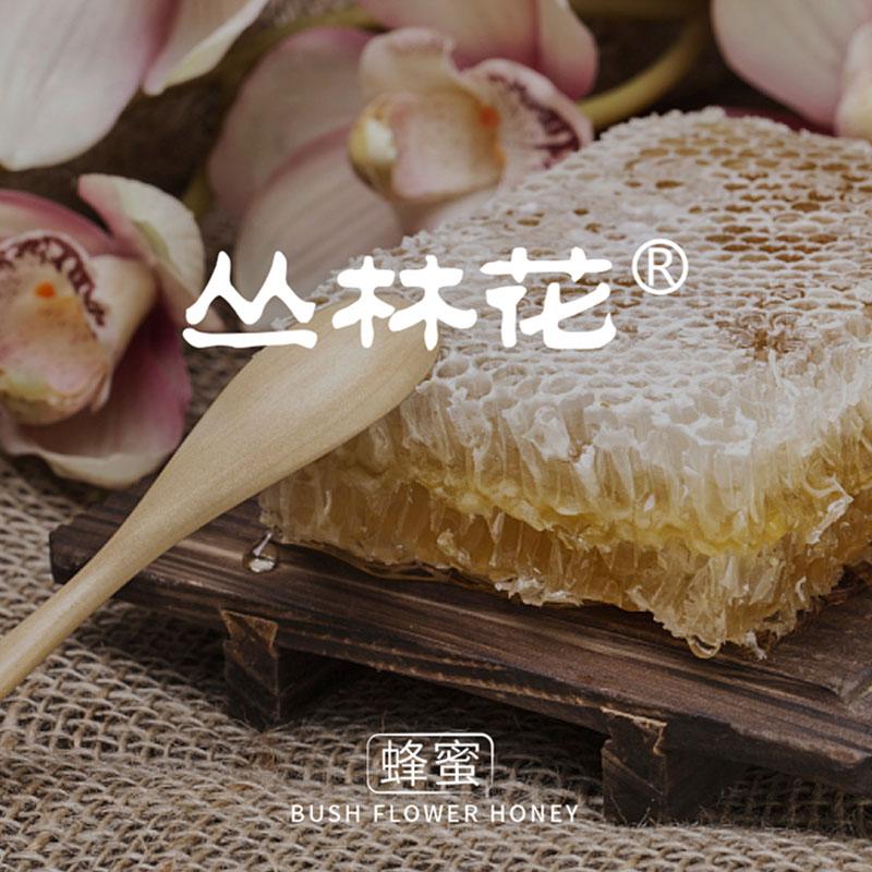 丛林花蜂蜜包装设计