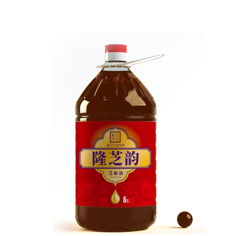 隆芝韻食品標簽設計
