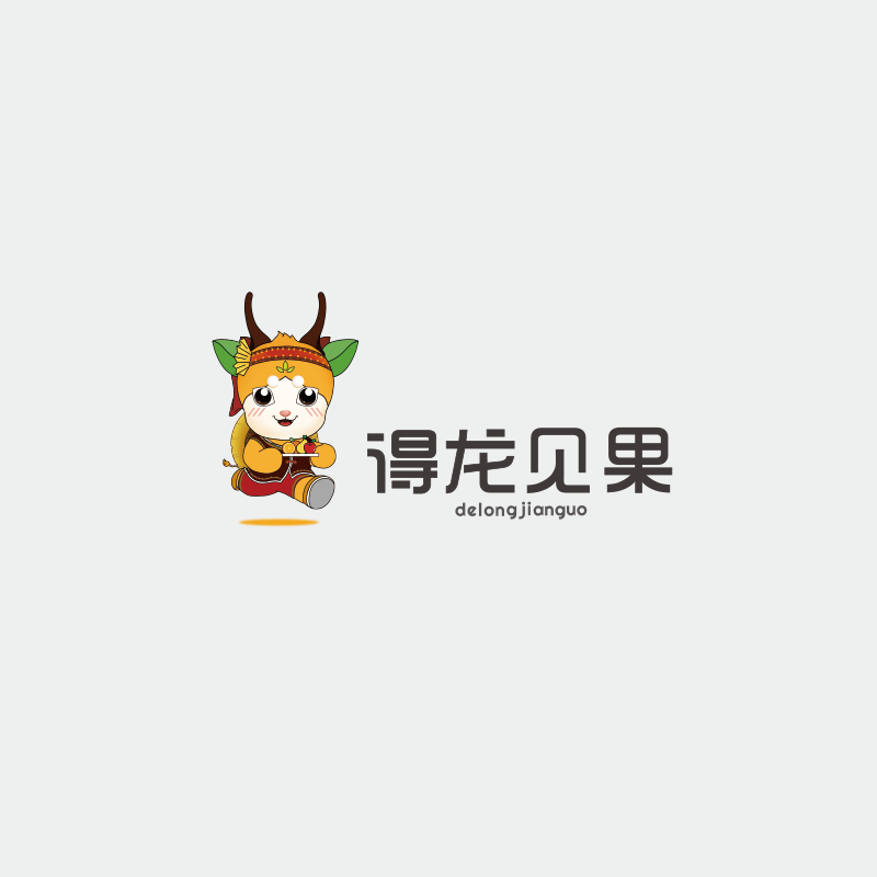 佤山得龍logo設計