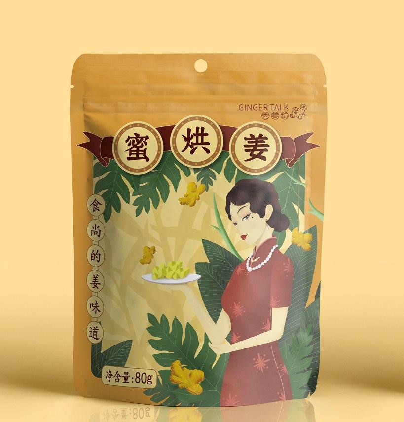 秀姜坊食品包装设计