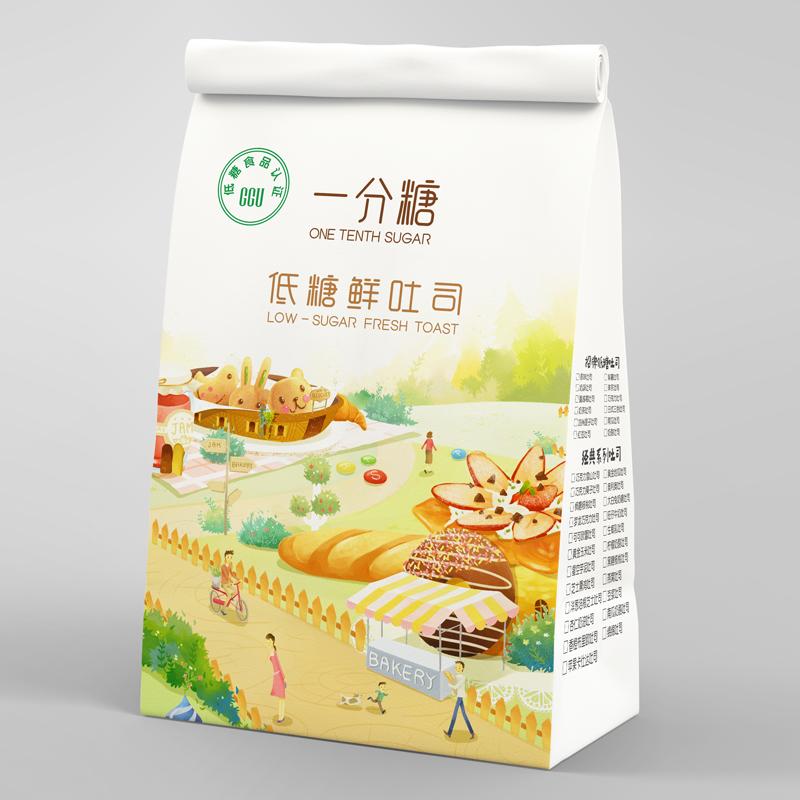 一分糖食品包装设计