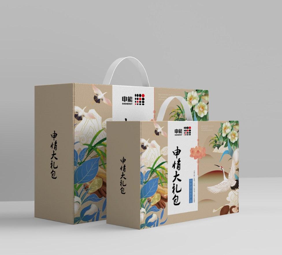 申情中秋礼品包装盒设计