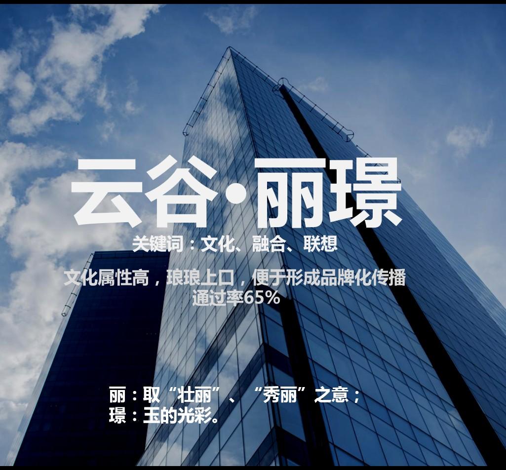 合肥云谷湖畔酒店品牌命名