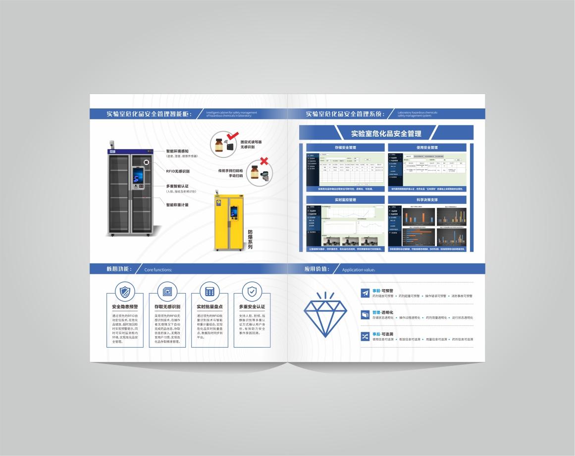 思谷智能科技折页设计
