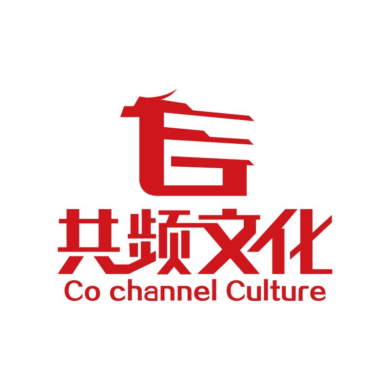 上海共频文化传媒logo设计