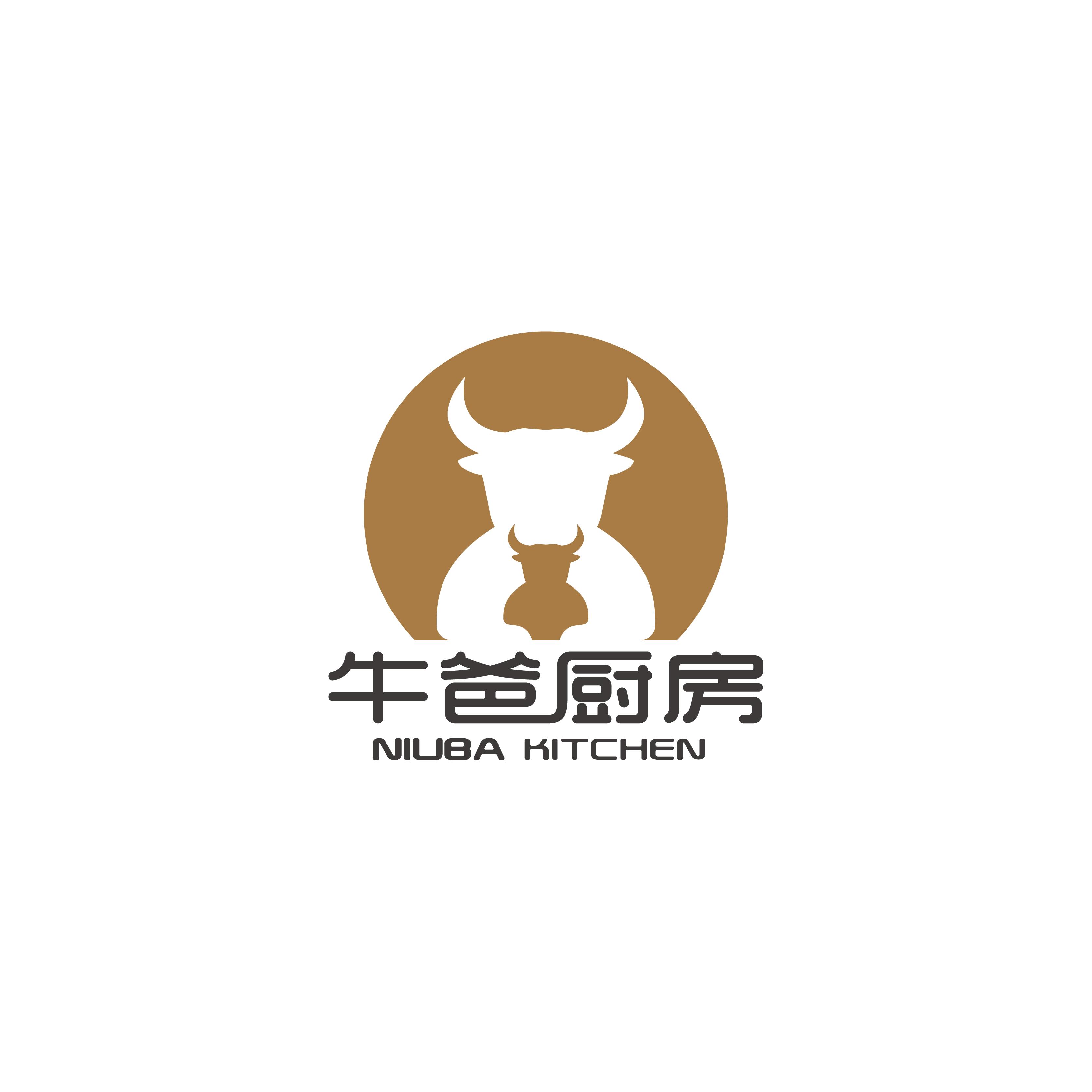 永輝牛爸廚房LOGO設計