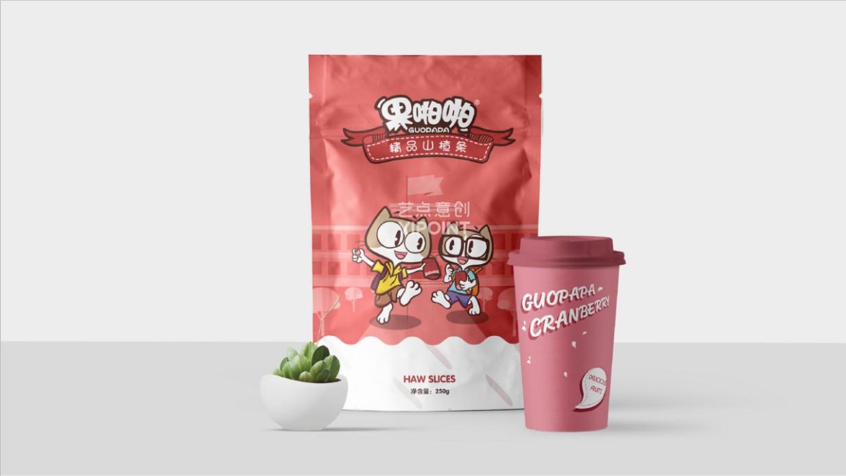 果啪啪食品包裝設計